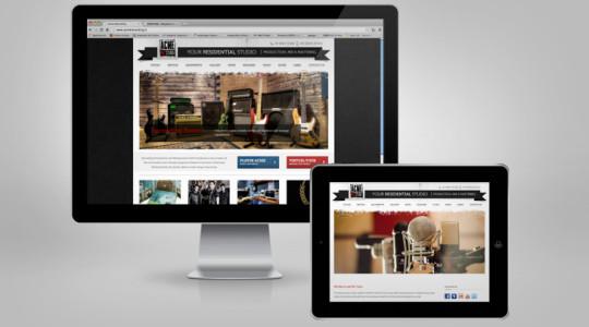 ACME REC STUDIO – Web Design