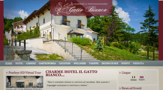 IL GATTO BIANCO – Web Design