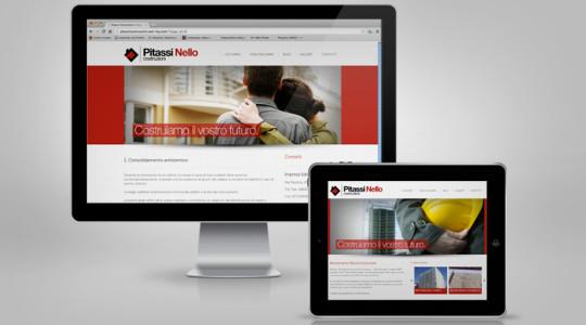 PITASSI COSTRUZIONI – Web Design