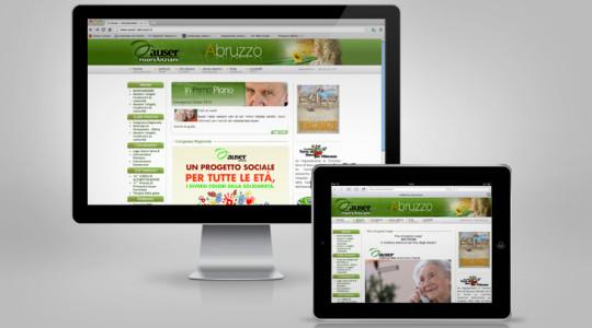 AUSER – Web Design