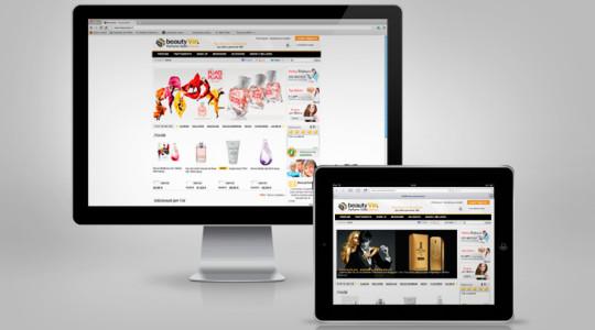 BEAUTY VIP – Web Design