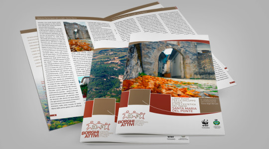 BORGHI ATTIVI – Graphic Design