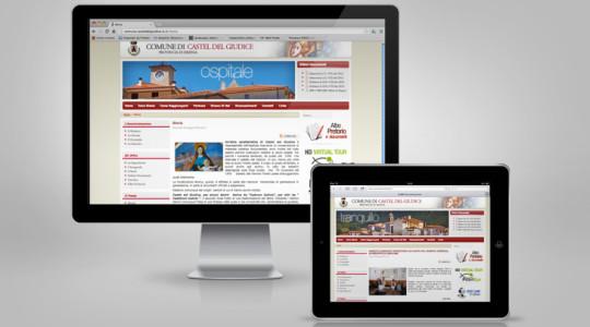 CASTEL DEL GIUDICE – Web Design