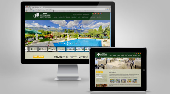 HOTEL MEETING 2.0 – Web Design