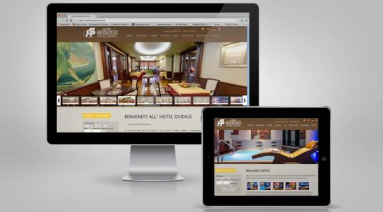 HOTEL OVIDIUS 2.0 – Web Design
