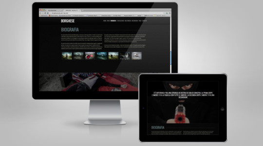 BORGHESE – Web Design