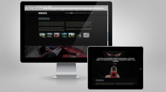 BORGHESE – Web Design