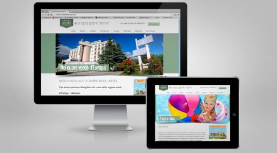 EUROPA PARK HOTEL – Web Design