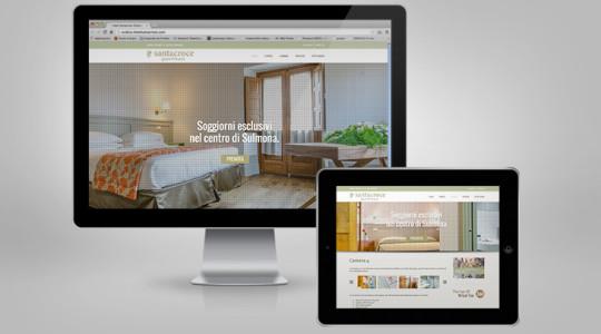 SANTACROCE GUEST HOUSE – Web Design