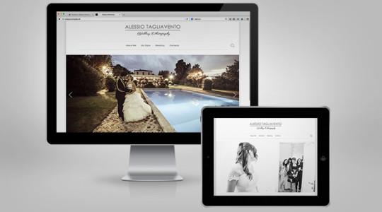 ALESSIO TAGLIAVENTO – Web Design
